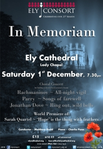 In Memoriam @ Ely Cathedral | England | United Kingdom