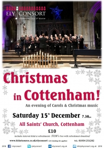 Another Christmas Consort in Cottenham @ All Saints' Church | Cottenham | England | United Kingdom